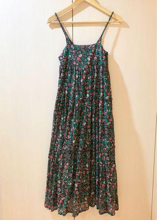 🚚 🇫🇷法國 A.P.C 絕版付牌 夏天就是要這個花樣洋裝👗(美劇美國恐怖故事第1季小女主角有穿)