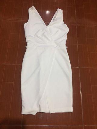 New White Formal Dress