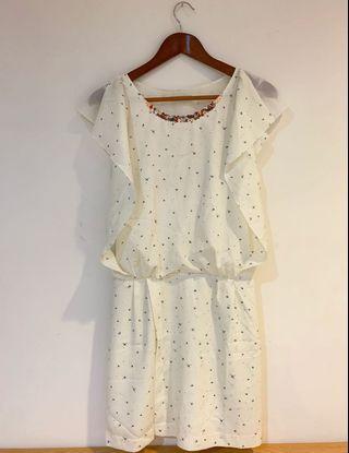 🚚 KOOKAI 法國🇫🇷風輕盈小洋裝、配涼鞋、休閒鞋都好看(含郵)