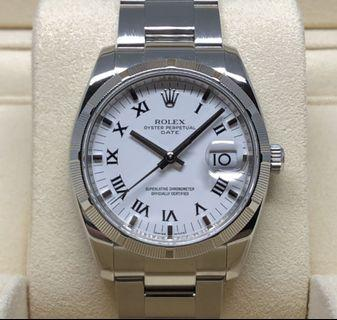 Rolex Oyster Perpetual Date 115210 M Series