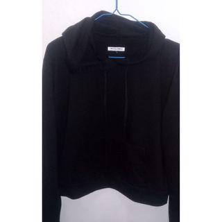 Colobox Crop Sweter Black