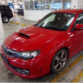 Subaru Impreza STI v10 scrap car