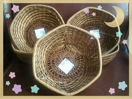 竹編收納 置物籃