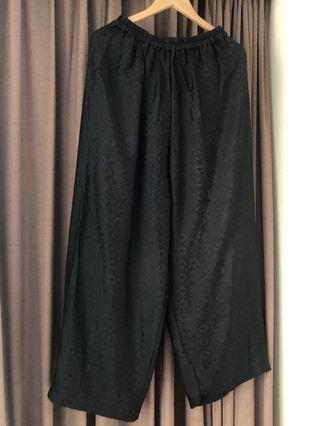 NEW Batik Pants/Kulot Hitam