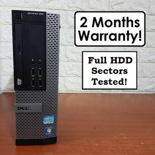 [Core I5 Gen2 CPU] Dell Optiplex 990 SFF: 500GB HDD! Cheap!