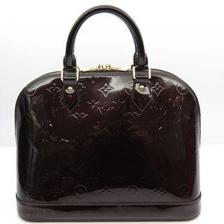 Louis Vuitton Vernis AlmaPM Patent Bag  M91611
