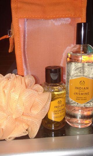 The body shop Indian night jasmine gift set