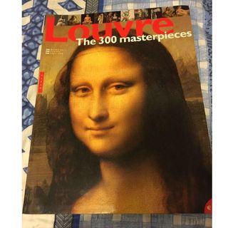 法國羅浮宮 Louvre museum collection book art 藝術 生日禮物 旅遊書 France 達文西密碼 dan brown da vinci Mona Lisa