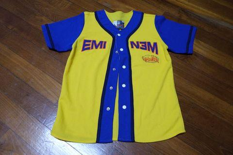 Eminem Yellow Baseball Top
