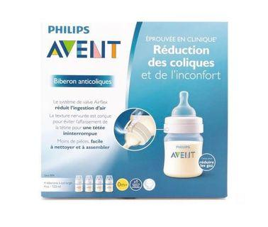 4-pack Avent 奶樽 Wide-Neck Anti-Colic Bottles - 4 oz.