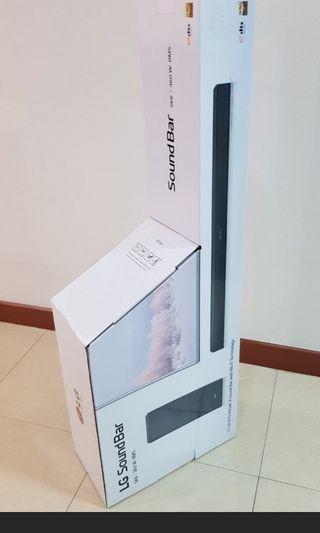 LG SK6Y 360W DTS Virtual X high Resolution Audio Soundbar with Wireless Subwoofer