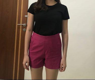Purple short