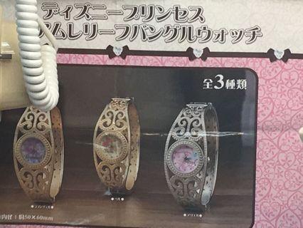 日本直送 Disney 迪士尼正版 小魚仙 Ariel手錶
