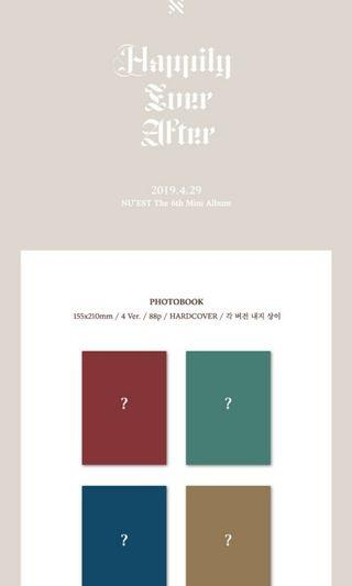 NUEST 6th Mini Album HAPPILY EVER AFTER