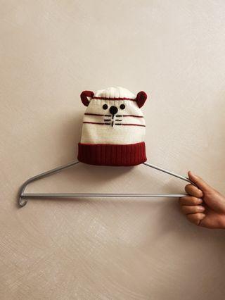 全新❤嬰幼兒針織毛帽 嬰幼兒毛線帽 針織保暖嬰幼兒帽