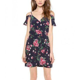 ASOS Floral Off-Shoulder Dress