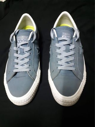 a372245044c9 Converse Cons One Star Pro Suede Backed Canvas