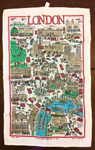 London map 掛布