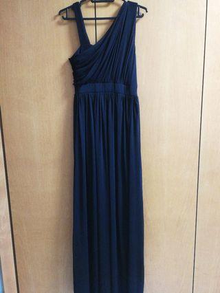 Intoxiquette Toga black Maxi Dress