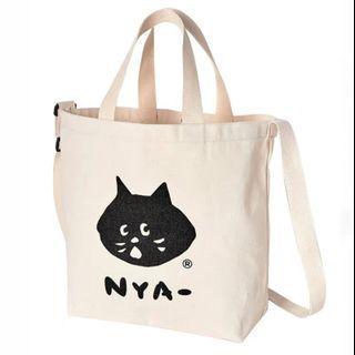 ne net 貓貓帆布袋