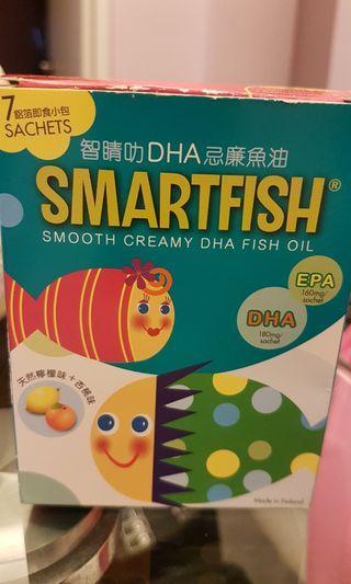 Smartfish 智睛叻 DHA忌廉魚油