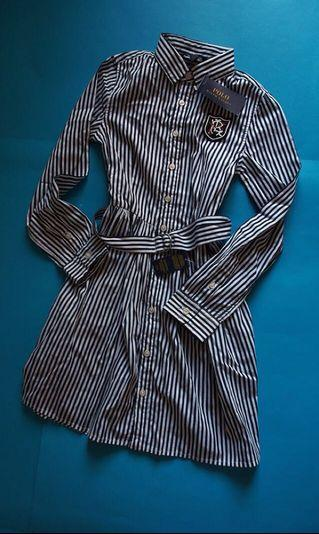 AUTHENTIC Polo Ralph Lauren Shirt Dress