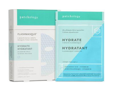 64折 Patchology Hydrate FlashMasque 5 Minute Sheet Mask極速水養面膜 (4片)