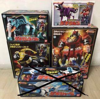 Bandai Super Sentai Abaranger Max Ouija Giant Boxset LE, Toys