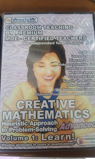CD for math problem solving