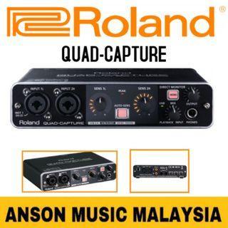 Roland QUAD-CAPTURE USB 2.0 Audio Interface