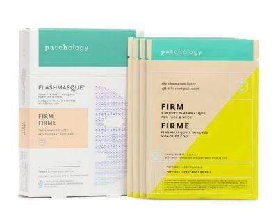 64折 Patchology Firm FlashMasque Facial Sheets 緊緻輪廓面膜(4片)
