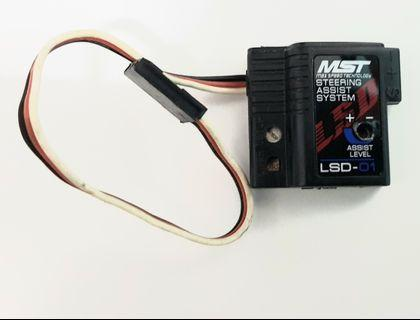 RC car drift car steering assist system
