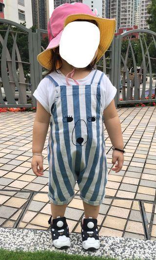 韓國🇰🇷 熊仔 連身褲(肩帶可調教長度)