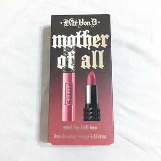 [NP:RM98] Kat Von D : Mother of All Mini Lipstick Duo (Limited Edition)