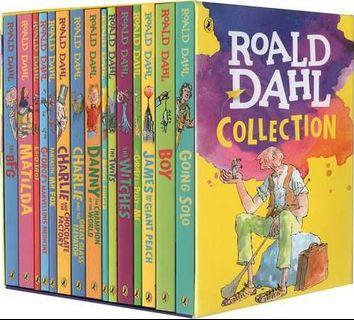Roald Dahl (羅爾德達爾)英文原版小說 全套15冊