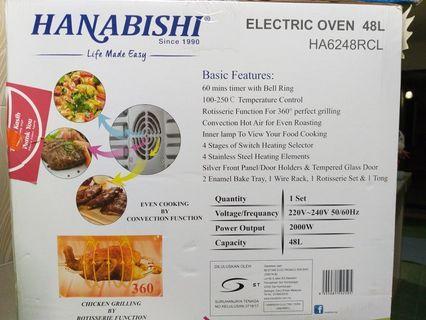 Hanabishi 48L Oven