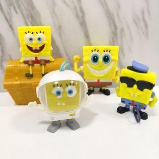 Original McDonald's SpongeBob Toy Set