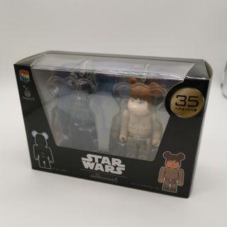 [ 全新未開封品 ] BE@RBRICK Bearbrick Medicom Star War 星戰 星球大戰 Box Set Darth Vader Luke Skywalker 黑武士 天行者