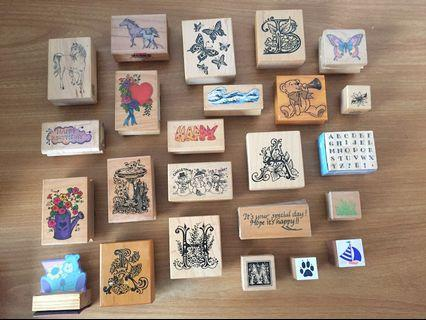 (Any 3 for $8) Assortment of small craft stamps