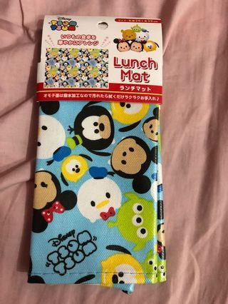 $29包平郵Disney Tsum Tsum Lunch Mat 食飯枱墊