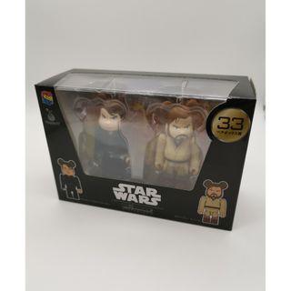 [ 全新未開封品 ] BE@RBRICK Bearbrick Medicom Star War 星戰 星球大戰 Box Set Luke Skywalker Obi-Wan 歐比王 天行者