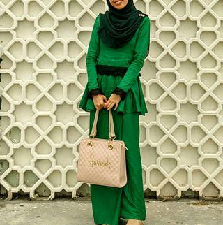 Peplum Cotton