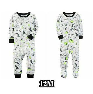 Carter's sleepsuit boy ori