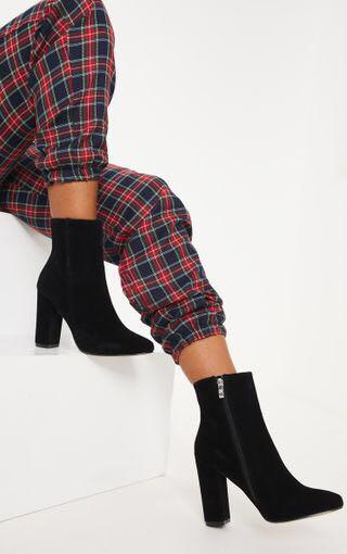 """3"""" FAUX SUEDE ANKLE BOOTS"""