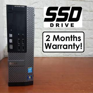 [Speedy SSD i5 Gen4 CPU] Dell Optiplex 9020 (Core i5 Desktop)