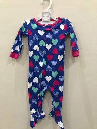 Carter's sleepsuit girl ori