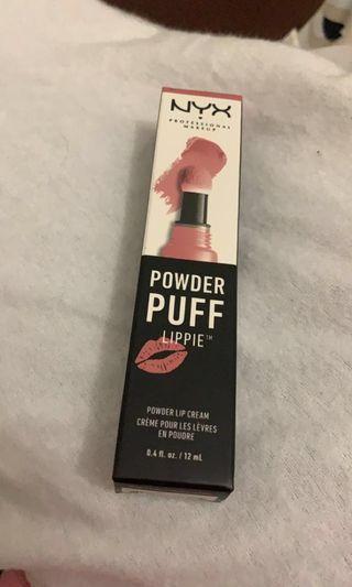 NYX power puff lippie