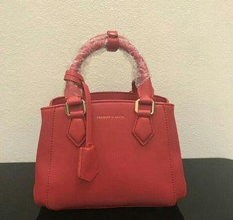 AUTH Charles & Keith Red