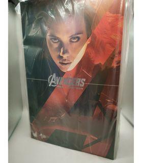 [ 全新未開封品 ] Hottoys HOT TOYS MMS288 Avengers Age of Ultron AOU Black Widow 黑寡婦
