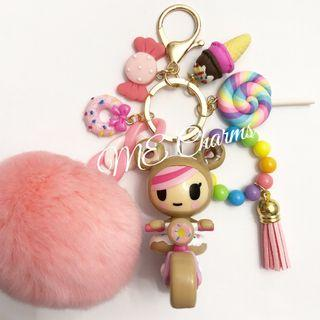 Tokidoki Donutella And Her Sweet Friends Series 2 Sprinkle Cycle Bag Charms